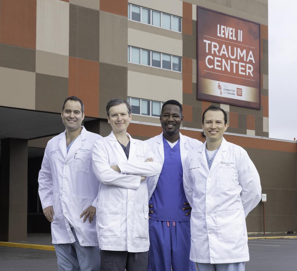 Médicos de trauma