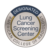 American College of Radiology Lung Cancer Screening Center Badge