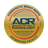 American College of Radiology Stereotactic Breast Biopsy Accreditation Seal