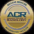 Sello de oro para instalación acreditada de medicina nuclear